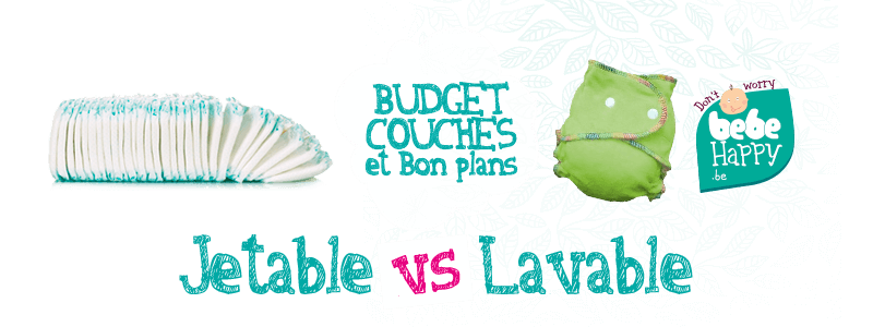 Module De Calcul Du Budget Couche Jetable Et Lavable Bebe Happy By