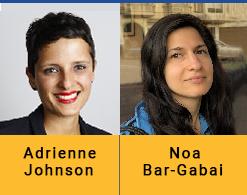 Adrienne Johnson and Noa ar-Gabal