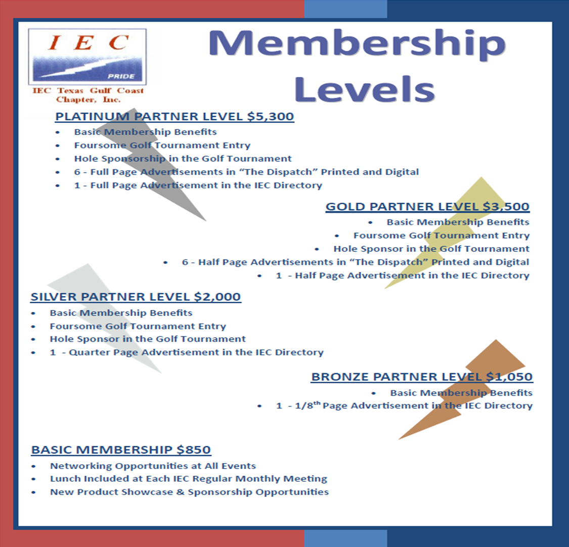 IEC Texas Gulf Coast - Associate Application Form