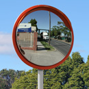 40 inch high visibility traffic mirror