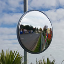 40 inch unbreakable traffic mirror