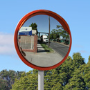 32 inch high visibility traffic mirror