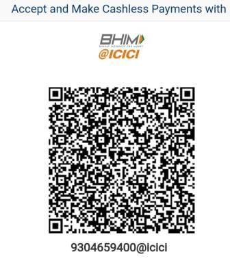Scan & pay the Correction Amount