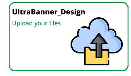 Bannerstand ultrabanner design upload files icon