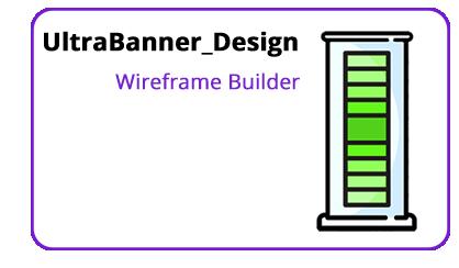 Bannerstand Ultrabanner design wireframe builder icon
