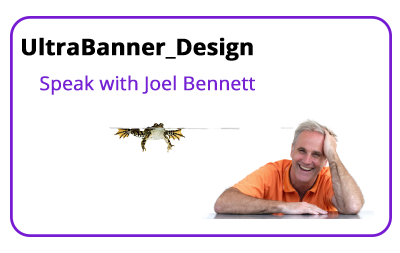 Bannerstand Ultrabanner designer speak with Joel Bennett