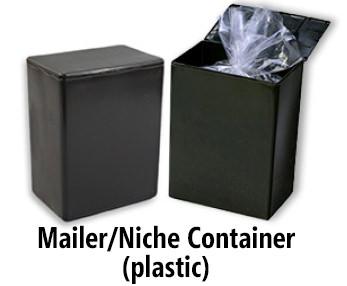 Mailer Niche Container