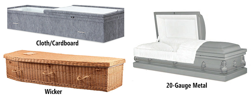 Direct/Green Casket Options